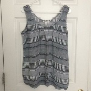 Motherhood Maternity Stripped Tank Top